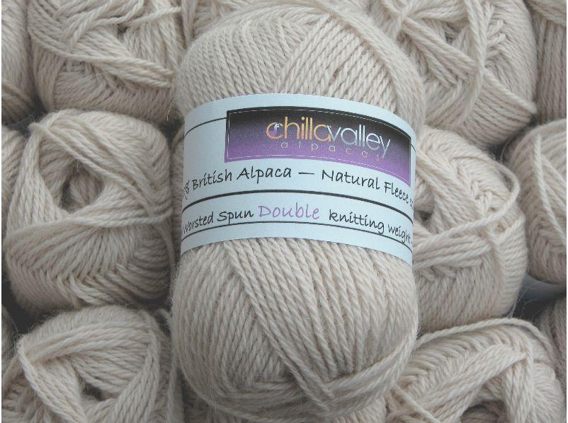 Buttermilk - Chilla Valley Alpaca Double Knitting Yarn