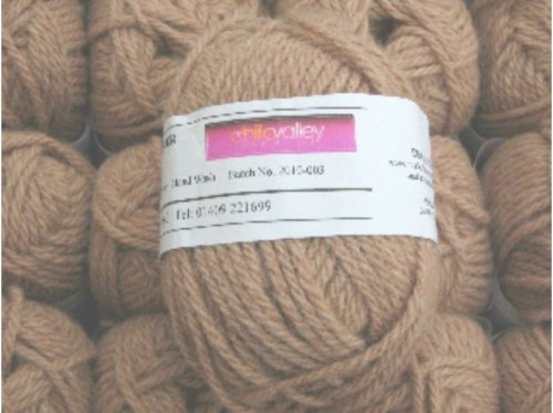 Chilla Valley Alpaca Chunky - 50g - Devon Fudge