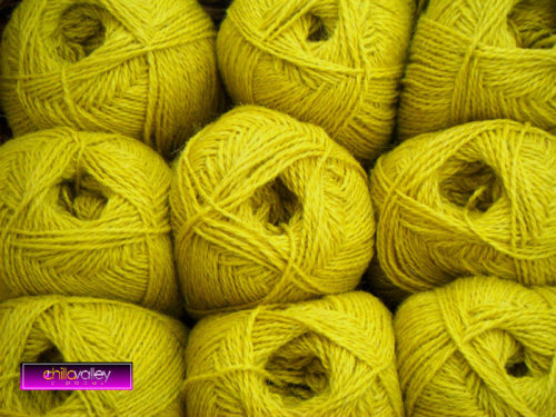 Pickled Lime Chilla Valley Alpaca Colours 4ply yarn