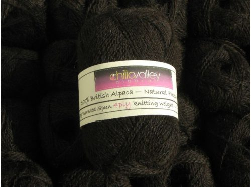 Chocolate Dream Chilla Valley Alpaca 4ply