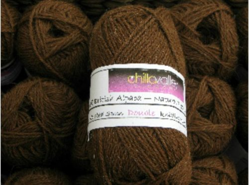 Cocoa - Chilla Valley 100% Alpaca Double Knitting