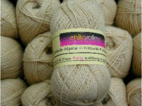 Honey Chilla Valley Alpaca 4ply
