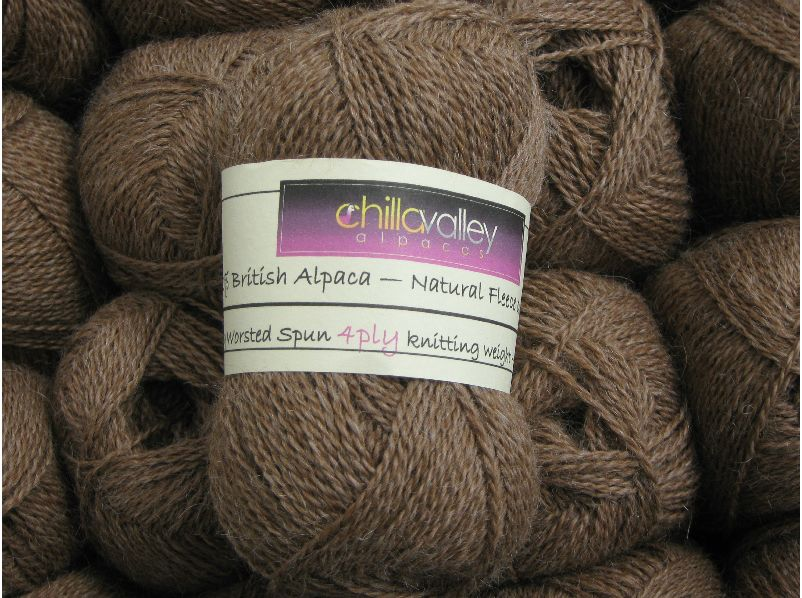 Milk Chocolate - Chilla Valley Alpaca 4ply