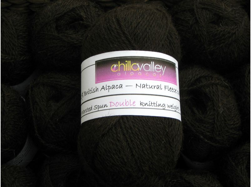 MochaChoca - Chilla Valley Alpaca Double Knitting