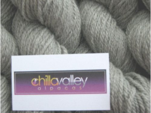 Storm Cloud Chilla Valley Alpaca Shetland Aran Yarn
