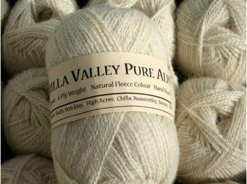 Vanilla Chilla Valley Alpaca 4 ply