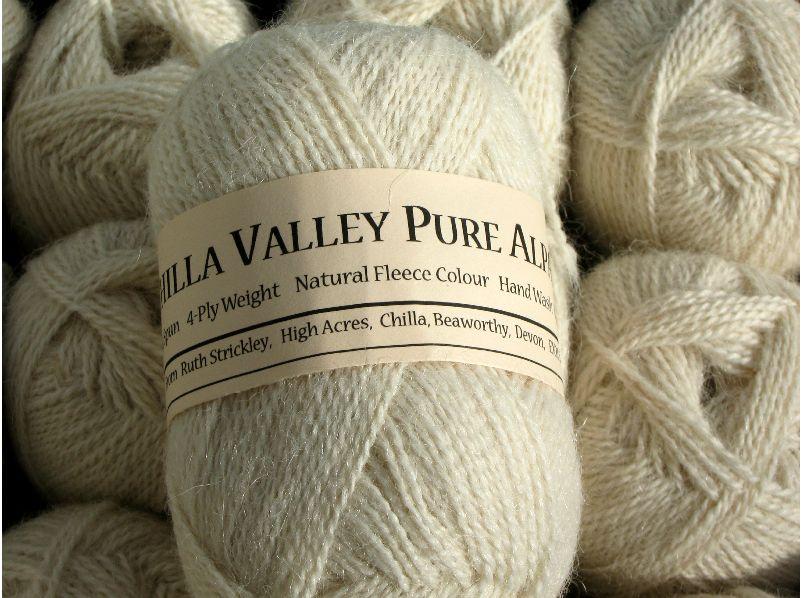 Vanilla Chilla Valley Alpaca 4 ply